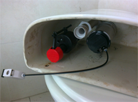 toilet repair - New Siphon and Flush Release Fitted